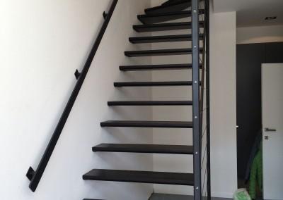 Escalier Wengé