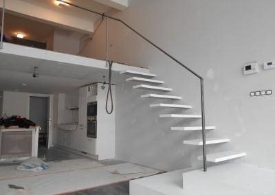 Escalier flottant 1