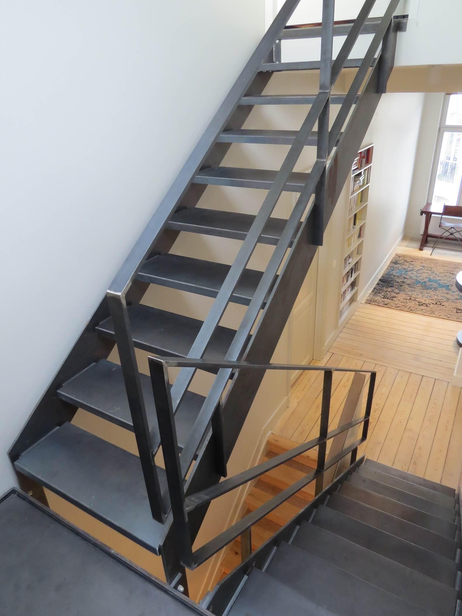 Escalier Acier Brut escalier en acier brut - mtts concept